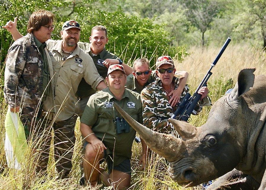 Rhino - Hunt - Science - Tag - Release