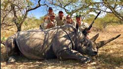 Rhino - Hunt - Science - Tag - Release